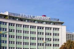 The Lisbon Fenix Hotel. Stock Photography