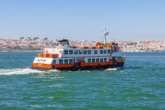 Lisbon ferry Royalty Free Stock Photography