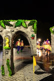 Lisbon Festivities - Campo de Ourique, Old Neighbourhoods Popular Parade Stock Image