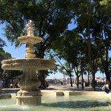 Lisbon Fountain Royalty Free Stock Image