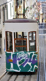 Lisbon Funicular, Portugal Royalty Free Stock Photo