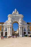 Lisbon gate Stock Photography