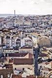 Lisbon general view Stock Image