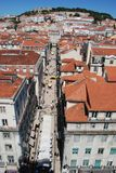 Lisbon at a glance. View of the city, Lisbon, Portugal Stock Photos
