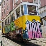 Lisbon. Gloria funicular. Stock Photography