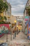 Lisbon Grafitti. Grafitti in the Streets of Lisbon, Portugal Stock Photos