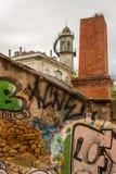 Lisbon Grafitti. Grafitti in the Streets of Lisbon, Portugal Royalty Free Stock Image
