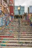Lisbon Grafitti. Grafitti in the Streets of Lisbon, Portugal Royalty Free Stock Photo
