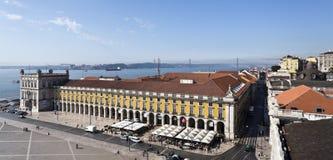 Lisbon handlu kwadrat zdjęcie royalty free
