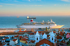 Lisbon harbor, Portugal Stock Photography
