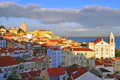 Lisbon historical centre Royalty Free Stock Images