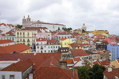Lisbon houses in Portugal Royalty Free Stock Image