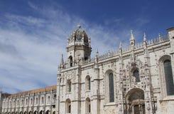 Lisbon Jerónimos Monastery Stock Photo