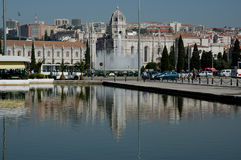Lisbon jeronimos klasztoru Obrazy Royalty Free