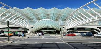lisbon järnvägstation Royaltyfri Fotografi