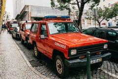 Lisbon, June 18, 2018: Police cars on a city street. Protection of public order. Lisbon, June 18, 2018: Police cars on a city street. Protection of public order royalty free stock photos