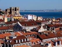 Lisbon krajobrazu Zdjęcia Stock
