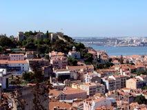 Lisbon krajobrazu Zdjęcie Royalty Free
