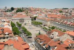 Lisbon Kwadrat, Portugalia Zdjęcie Royalty Free