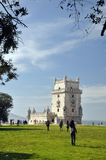 Lisbon landmark Stock Photo