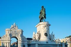 Lisbon landmarks Royalty Free Stock Image