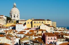 Lisbon landscape stock images