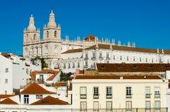 Lisbon landscape royalty free stock photography