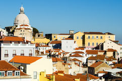 Lisbon landscape royalty free stock photography