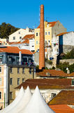 Lisbon landscape royalty free stock images