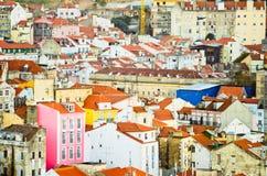 Lisbon landscape Royalty Free Stock Photos