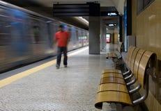 Lisbon metro Royalty Free Stock Photo