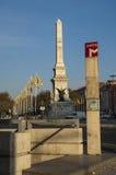 Lisbon Metro Sign Stock Image