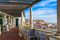 Lisbon miradouro Royalty Free Stock Photos