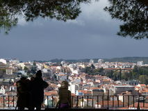 Lisbon miradouro Royalty Free Stock Photography