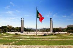 Lisbon monument Stock Photography