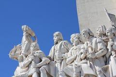 Lisbon monument Royalty Free Stock Photos