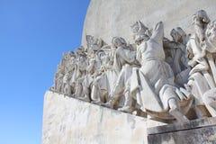 Lisbon monument Royalty Free Stock Image