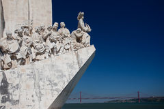 Lisbon - monument to the discoveries Royalty Free Stock Image