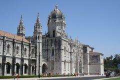 Lisbon Mosteiro dos Jerà ³ Kościelni nimos Zdjęcia Royalty Free