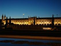 Lisbon mosteiro dos jeronimos Zdjęcie Stock