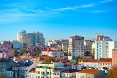 Lisbon new districts architecture. Portugal stock photo