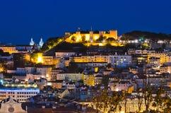 Lisbon Night Royalty Free Stock Photography