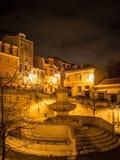 Lisbon at night Stock Photos
