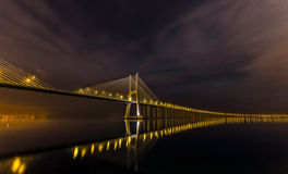 Lisbon noc Zdjęcia Stock