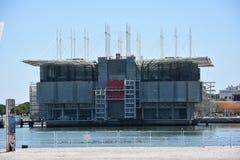 The Lisbon Oceanarium in Portugal Stock Images