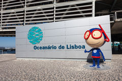 The Lisbon Oceanarium Stock Photo
