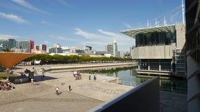 Lisbon Oceanarium in Portugal Stock Image