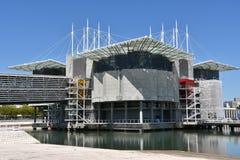 The Lisbon Oceanarium in Portugal Stock Image