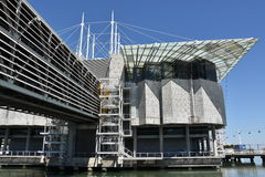 The Lisbon Oceanarium in Portugal Stock Photos