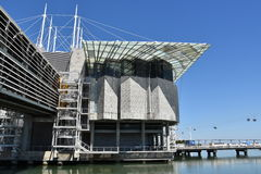The Lisbon Oceanarium in Portugal Royalty Free Stock Images